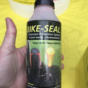 Motorbike Tyre Protection Puncture Sealant