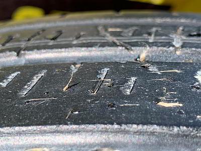 Puncture Sealant Tyre Fibres