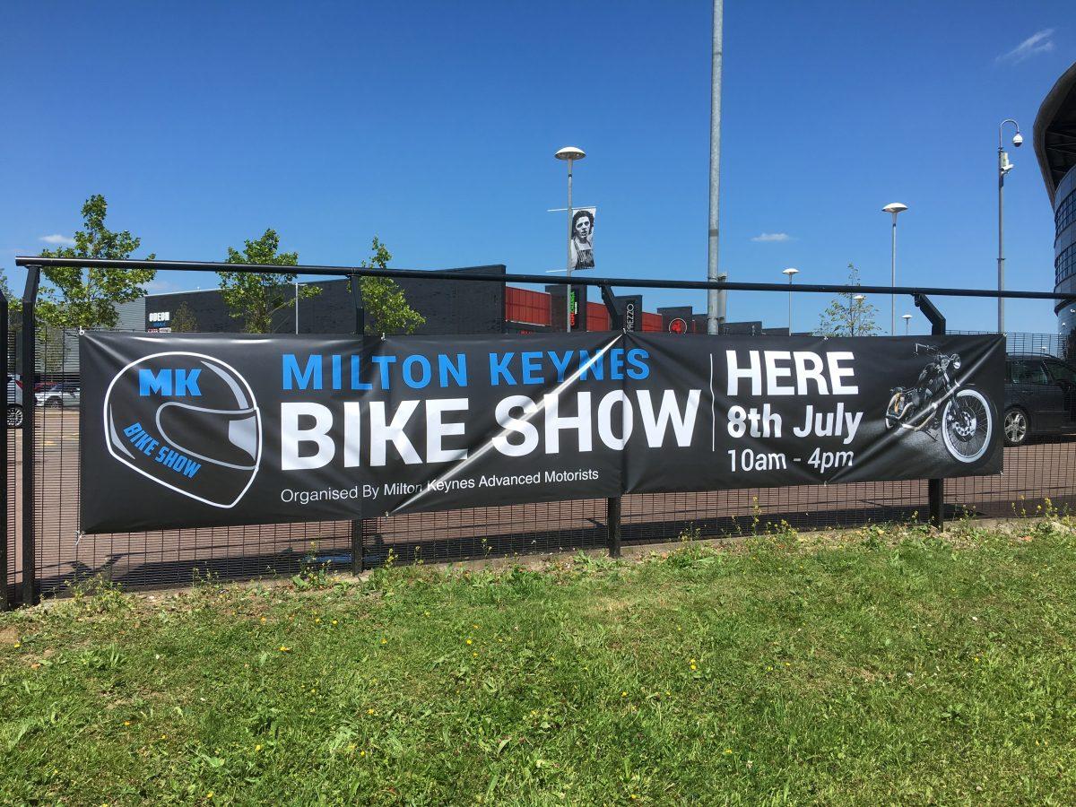 MK Bike Show Banner